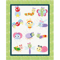 Bug Off Crib Quilt