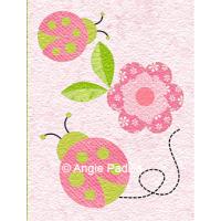 Ladybug Hugs - February block