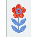 Scandinavian Flowers - Block 7
