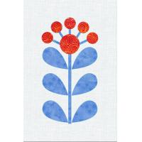 Scandinavian Flowers - Block 8