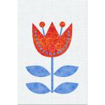 Scandinavian Flowers - Block 10