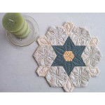 Six-Point Star Candle Mat