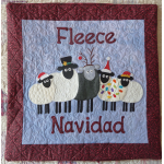 Fleece Navidad Cushion Cover