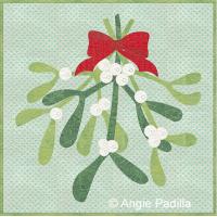 Mistletoe Cushion Cover