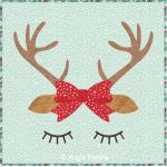 Reindeer Cushion Cover