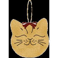 Cat Head Ornament