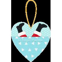 Santa Love Pocket