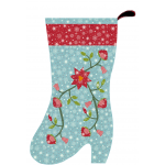 Christmas Flower Stocking