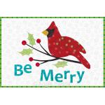 Be Merry Mug Rug