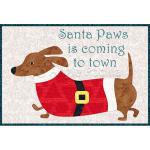 Santa Paws Mug Rug