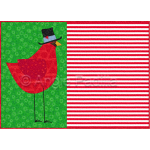 Whimsical Cardinal Placemat