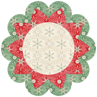 Winter Blossom Candle Mat