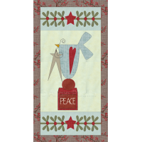 Folk Art Christmas Dove