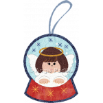Angel Snowglobe Ornament