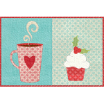 Christmas Coffee Break Mug Rug