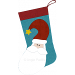 Country Santa Stocking