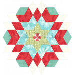 Diamond Star Candle Mat