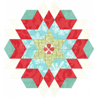 Diamond Star Candle Mat