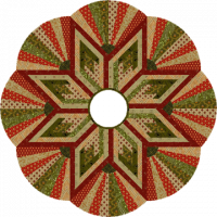 Dresden Star Tree Skirt