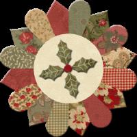 Dresden Flower Candle Mat
