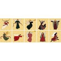 Elegant Angels: 10 Applique Blocks