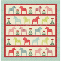 God Jul Dala Lap Quilt