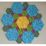 Hexagon Rosette Candle Mat