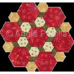 Hexagon Rosette Candle Mat