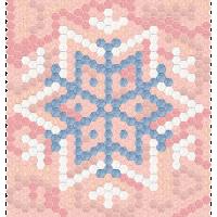 Hexie Snowflake 2