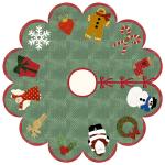 Holiday Cheer Tree Skirt