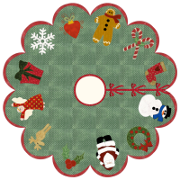 Holiday Cheer Tree Skirt