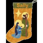 Holy Family Stocking