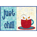 Just Chill Mug Rug
