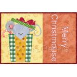 Merry Christmouse Mug Rug