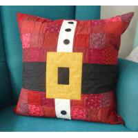 Santa Belt Cushion Cover
