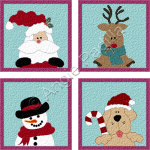 Santa & Friends Coasters