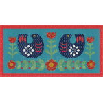 Scandinavian Birds Runner