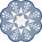 Snowflake Candle Mat