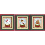 Polar Bear, North Pole, & Gingerbread House Snow Globes