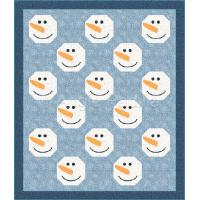 Snowman Lap Quilt