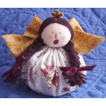 Soft Sculpted Christmas Angel