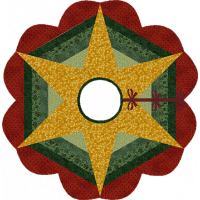 Star Flower Tree Skirt