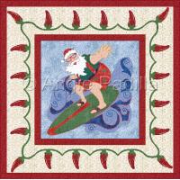 Surfin' Santa