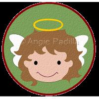 Sweet Angel Coaster