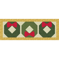Christmas Wreath Runner