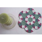 Christmas Wheels Candle Mat