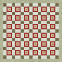 Christmas Blocks in a Box Lap Quilt
