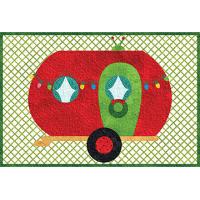 Christmas Camper Mug Rug