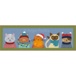 Christmas Cats Runner
