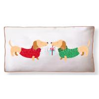 Christmas Dachshunds Cushion Cover